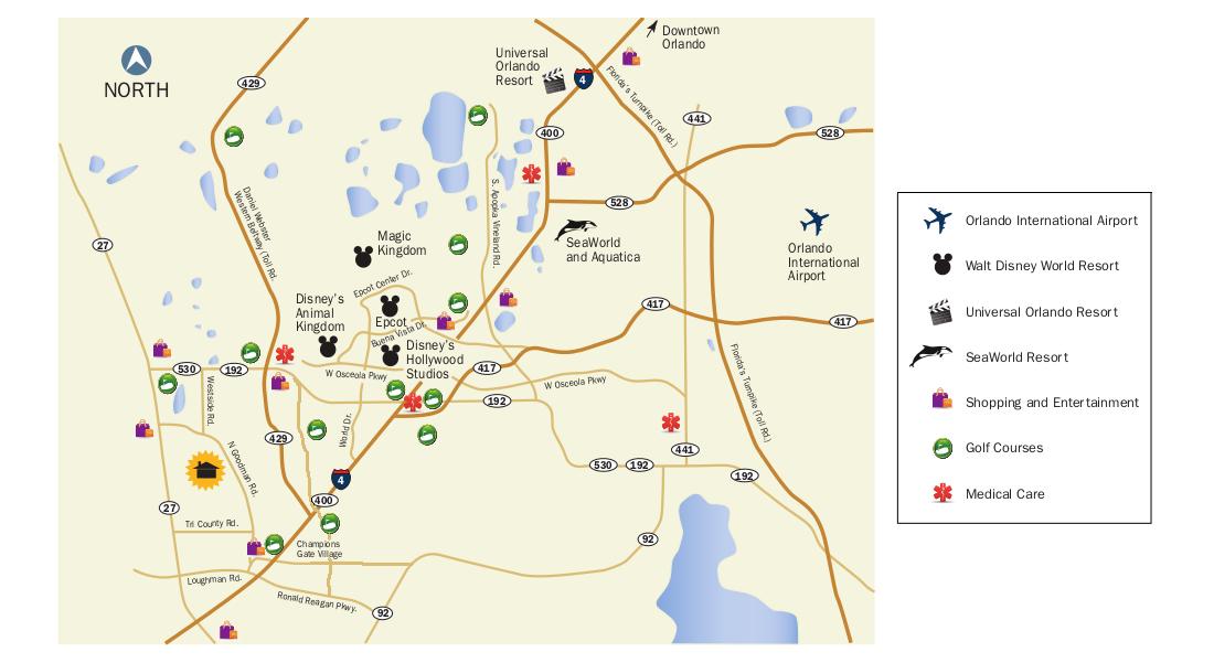 Windsor at Westside map