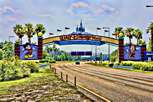 2. State Road 535 – Lake Buena Vista Blvd, to the main Disney entrance